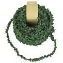 groothandel Woondecoratie: Mini-bladslinger, L30m, groen